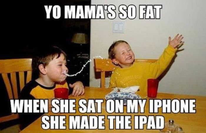 Mom Jokes Are The Cruelest And Funniest Of Them All (27 pics)