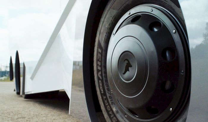 New T-Pod Self-Driving EV Gets A Prototype (5 pics)