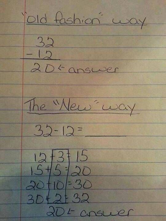 The New And Useless Way Of Solving Math Problems For Children (3 pics)