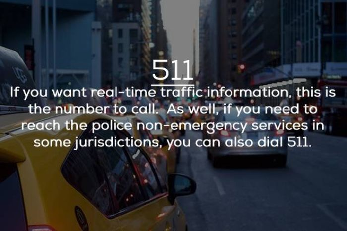 Other Important Phone Numbers That Aren't 911 (9 pics)