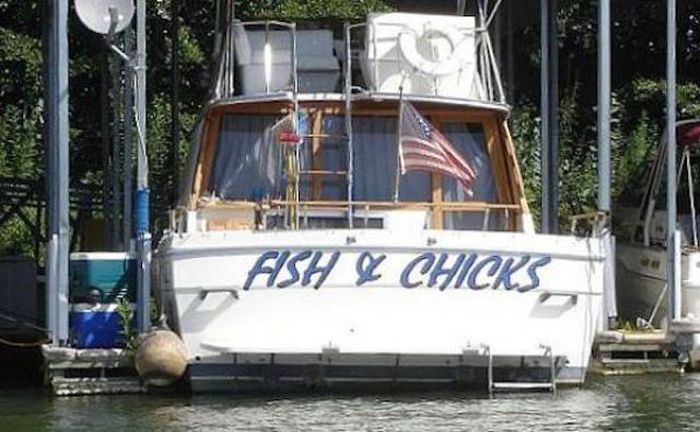 Naming A Boat Is The Toughest Part Of Owning One (29 pics)