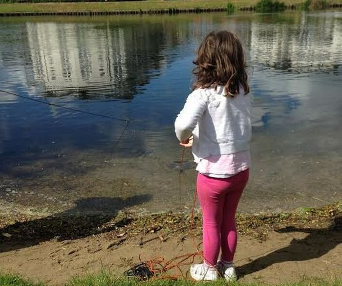 Little Girl Goes Fishing And Reels In 300 Bullets (17 pics)