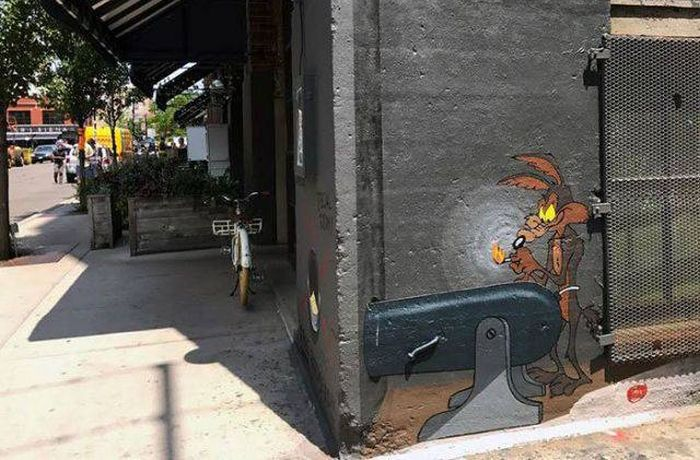 Awesome Looney Toons Street Art (4 pics)