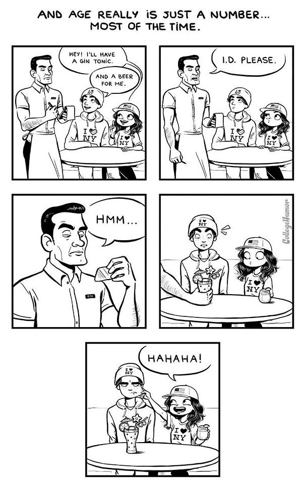 Funny Comics That Reveal The Truth About Dating Someone Younger (5 pics)