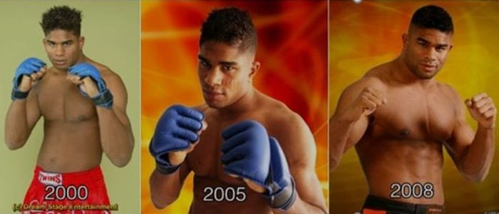 How Alistair Overeem Has Changed Over The Years (2 pics)