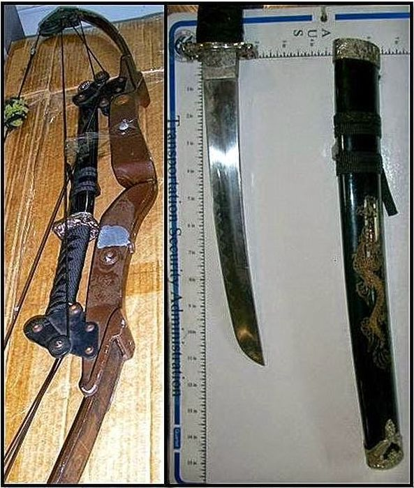 The Craziest Things That The TSA Has Ever Confiscated (24 pics)