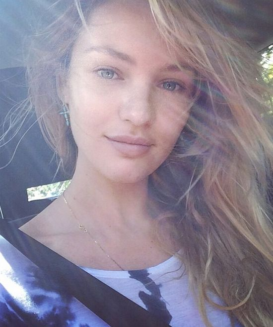 22 Selfies Of Your Favorite Supermodels Without Makeup (22 pics)