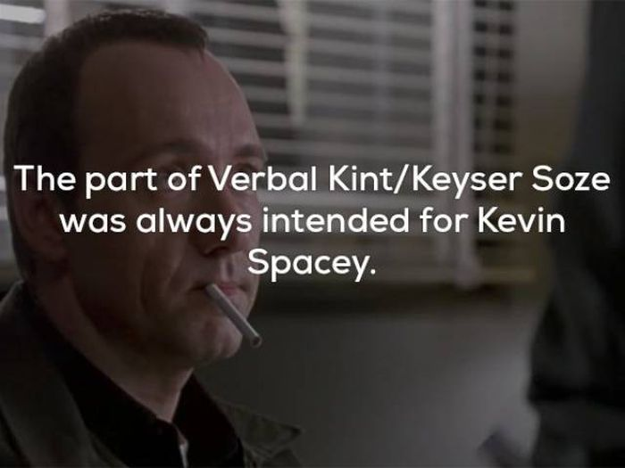 Unusual And Awesome Facts About The Usual Suspects (16 pics)
