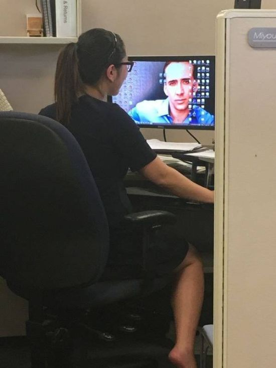 Work Is Not Something You Can Escape (38 pics)