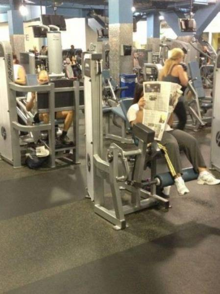 The Gym Is Not A Place For The Weak (30 pics)