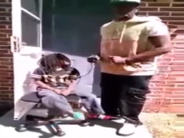 Man Disciplines His Son In An Unexpected Way