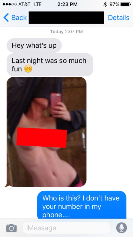Girls That Sent Scandalous Pics To The Wrong Number (18 pics)