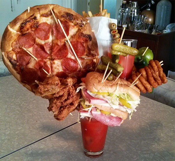 Restaurants That Went Way Too Far While Serving Food (30 pics)