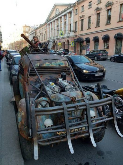 Custom Cars That Are One Of A Kind (32 pics)