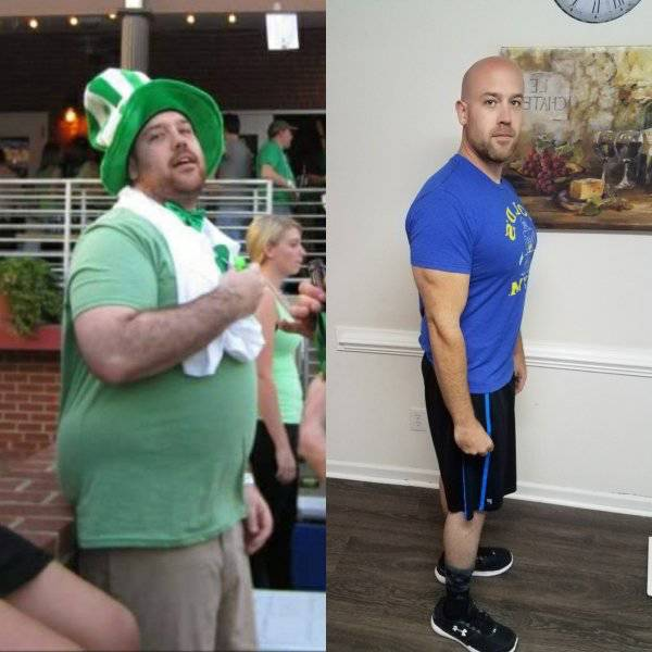 Weight Loss Transformations That Command So Much Respect (42 pics)