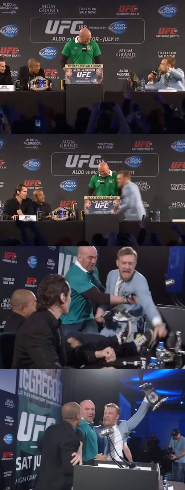 Conor McGregor Knows How To Talk Some Serious Trash (15 pics)