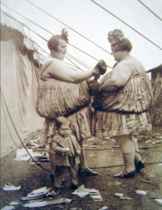 Vintage Photos Show The Weird World Of Victorian Female Boxing (17 pics)