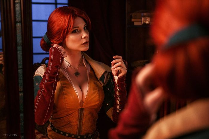 Beautiful Girls With Amazing Witcher Cosplays (19 pics)