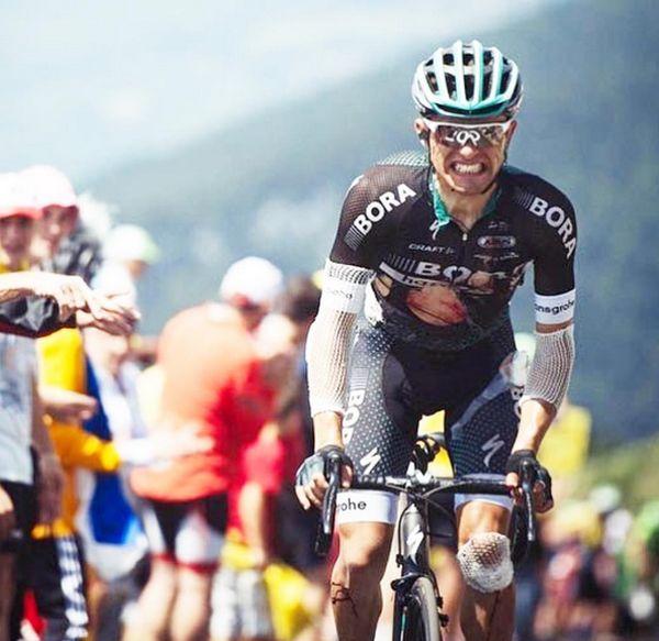 Cyclist Pawel Poljanski's Photo Reveals The Pain Of Tour De France (2 pics)