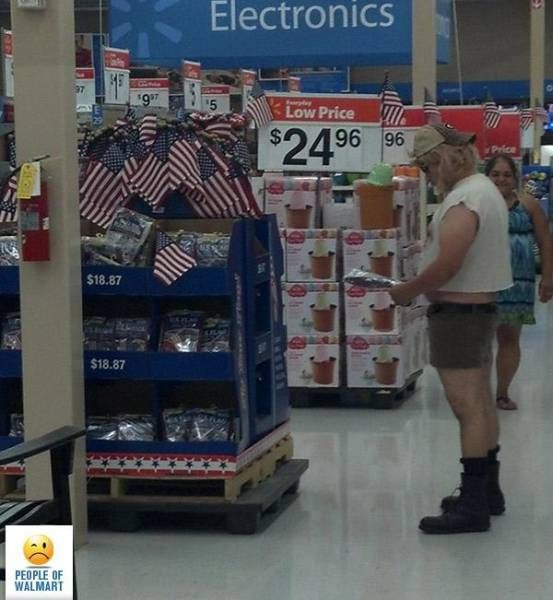 People of Walmart. Part 37 (28 pics)