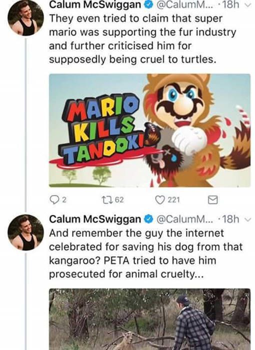 Guy Uses Twitter To Call Out PETA (6 pics)