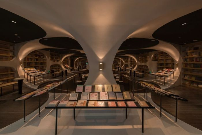 This Store Looks Like An Endless Tunnel Of Books (6 pics)