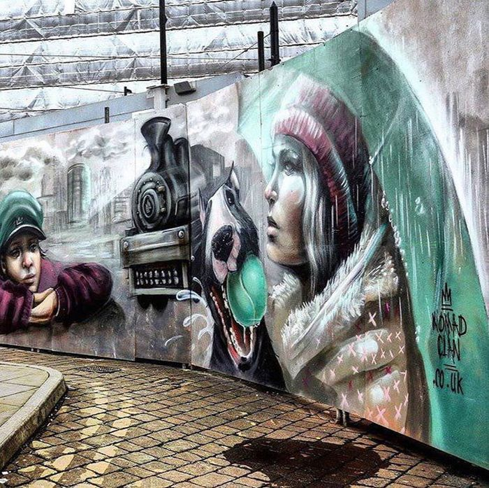 20 Masterpieces From Street Artists Around The World (20 pics)