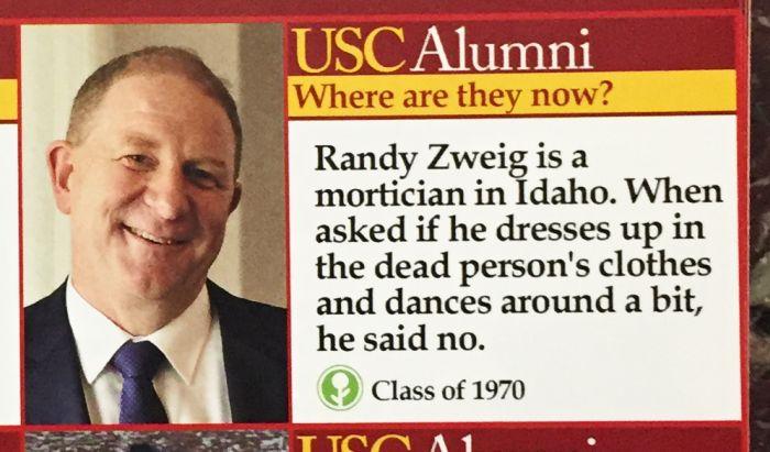 Fake Flyer Reveals What Happened To USC Alumni (15 pics)