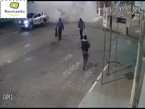 New Style Of Bank Robberies In Brazil