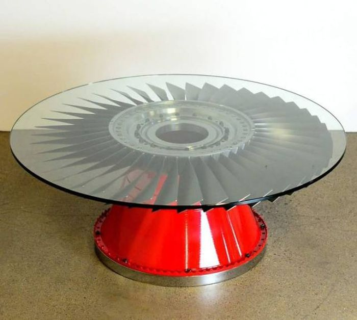 Airplane Parts That Were Transformed Into Cool Furniture (40 pics)