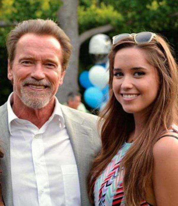 Arnold Schwarzenegger And His Daughter Then And Now (2 pics)