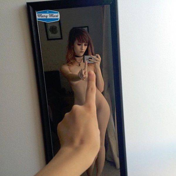 The One Finger Selfie Challenge Is The Hottest Thing Ever (17 pics)