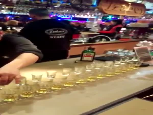 German Bartender Will Have You On The Edge Of Your Seat