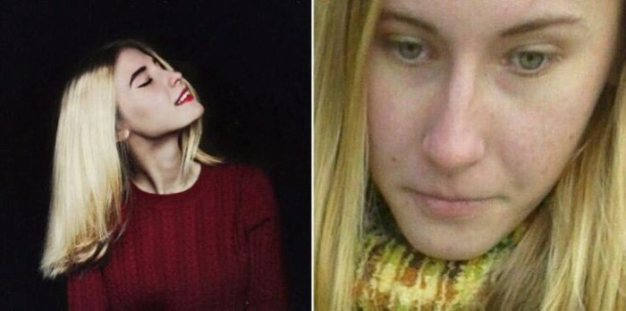 The same Girls in Internet And Real Life (17 pics)
