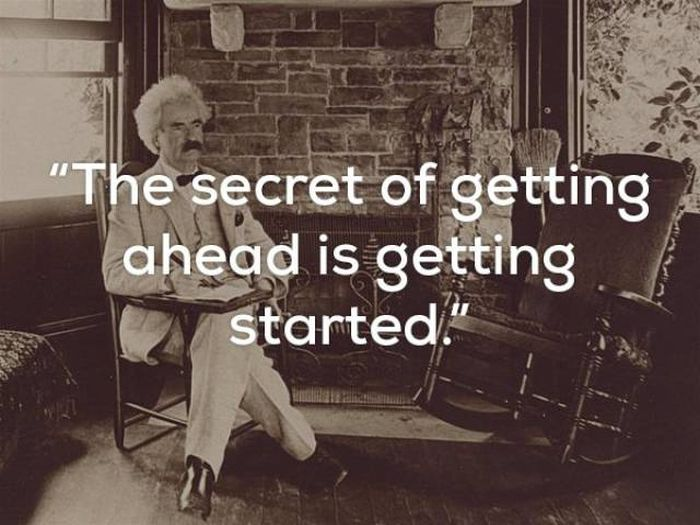 Mark Twain's Wisdom Will Live Through Ages (17 pics)