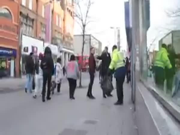 Punishment For The Thrown Away Garbage on The Street