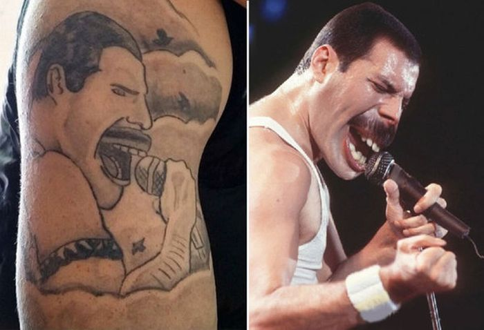 Worst Tattoos with Faces (15 pics)