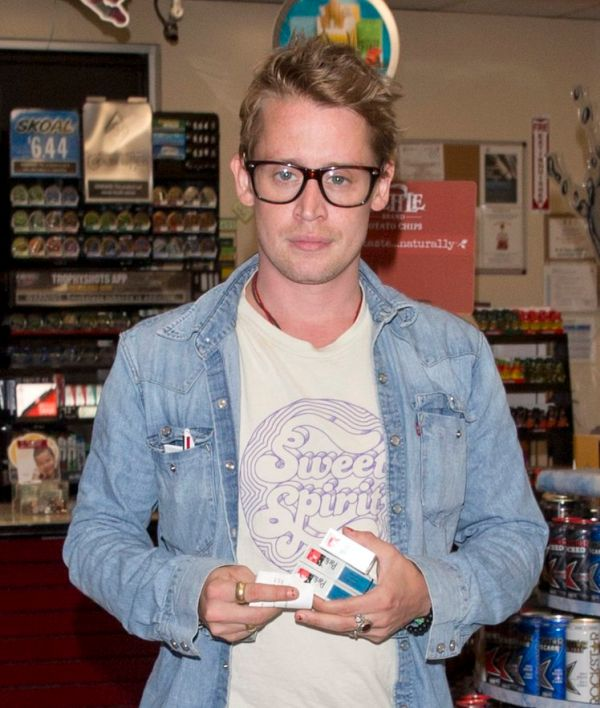 Macaulay Culkin Shows Off His New Look As He Steps Out For Dinner (2 pics)