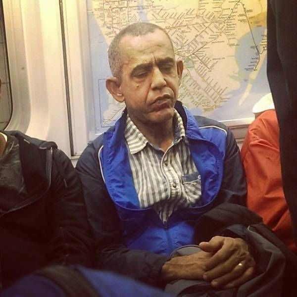 The Subway is Where All The Strange People Meet (41 pics)