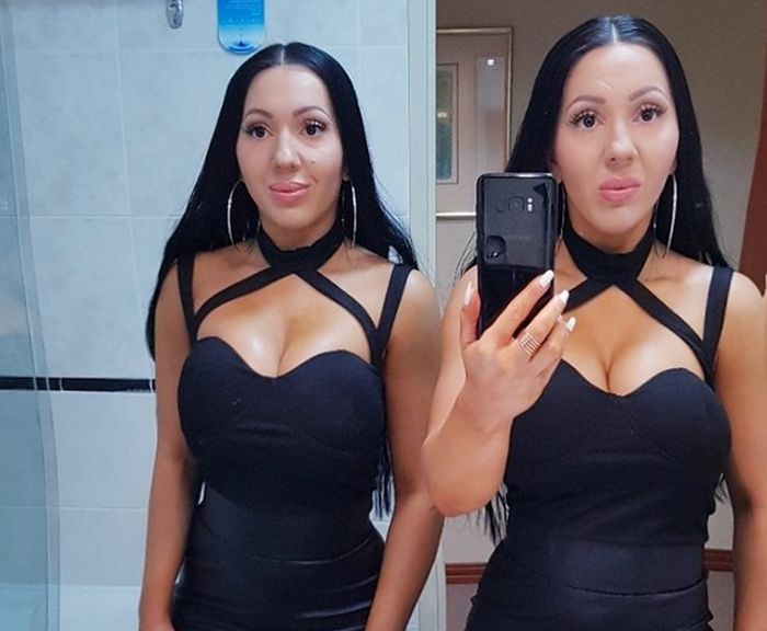 Identical Twins Decide To Get Pregnant From The Same Man (6 pics)