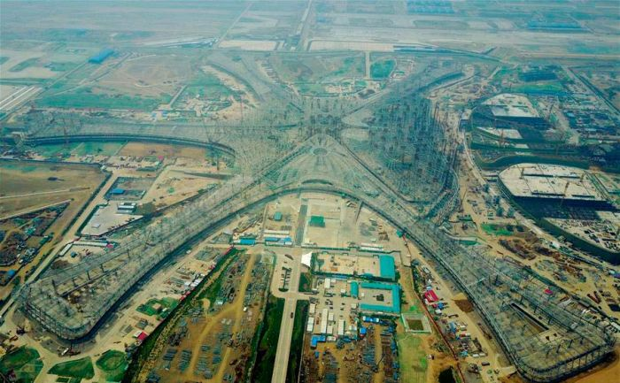 The New Beijing Airport Is Impressive (8 pics)