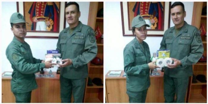 Soldiers In Venezuela Get A Big Reward (3 pics)