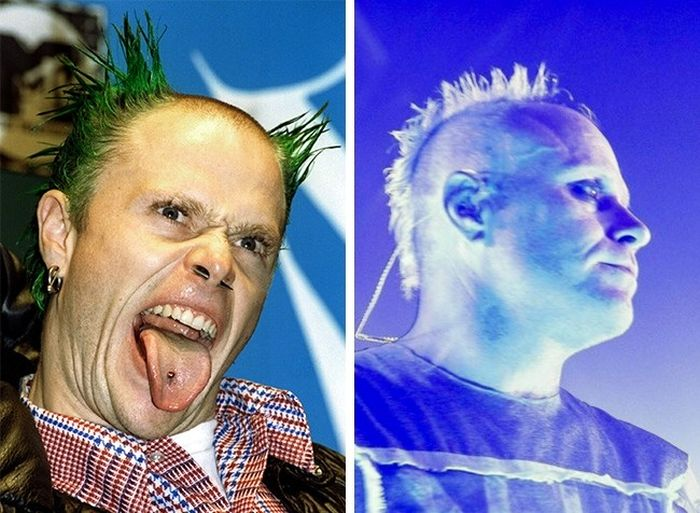 Rock Stars Back In The Day And Today (19 pics)