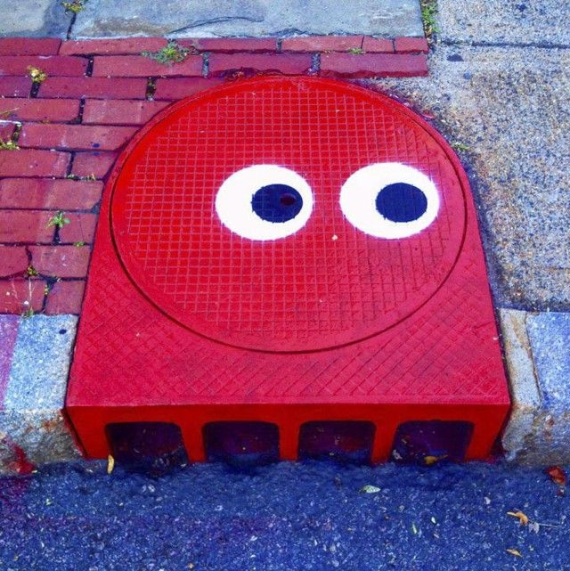 Perfectly Placed Street Art That Will Satisfy Your Eyes (33 pics)