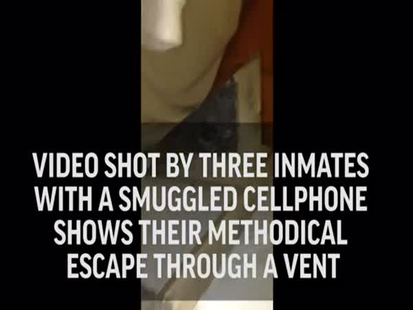 Contraband Cellphone Video Shows Inmate Escape