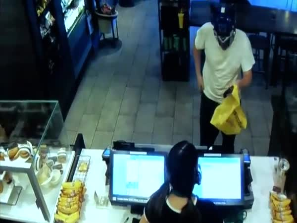 Old Man Stops Armed Robber With a Chair To The Head