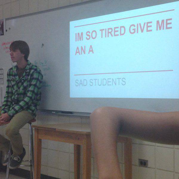 Class Presentations That Quickly Got Awkward (32 pics)