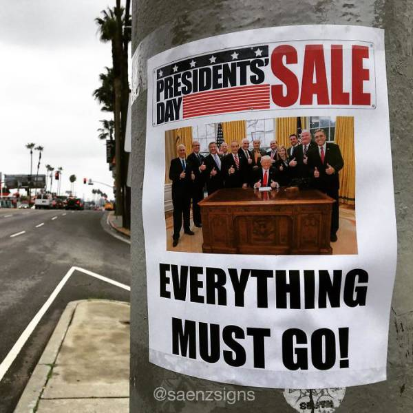 Guy Puts Hilarious Fake Posters Up All Over California (50 pics)