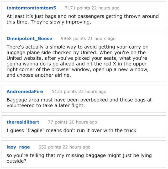 United Airlines Messes Up Again (5 pics)