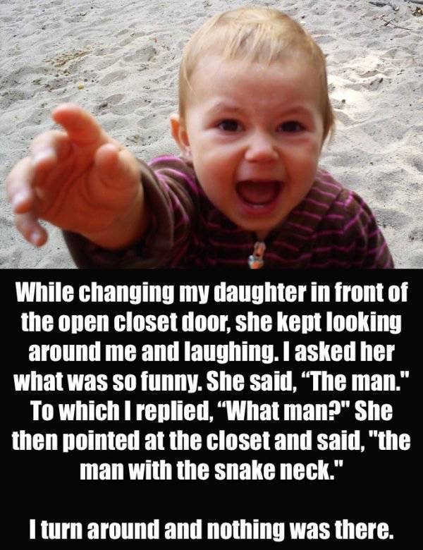Sometimes Kids Say Terrifying Things (21 pics)